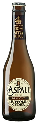 Aspall crisp Suffolk Cyder englischer Apfel-Cider 5,5%Vol EW0,33l