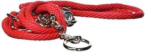 Hamilton Poly Rope Cow Halter with Chain, 3/8-Inch, (Hamilton Rope Halter)