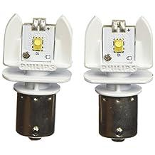 Philips 1156 White Vision Exterior LED Bulb, 2 Pack