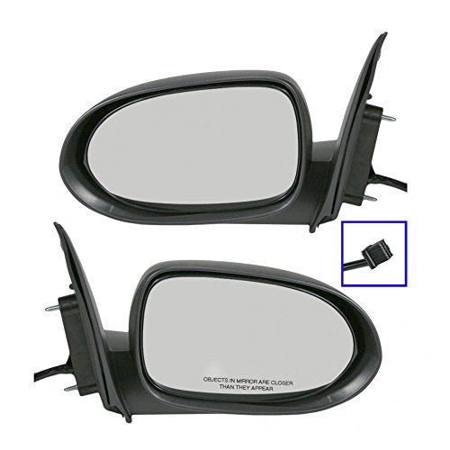 Power Side View Door Mirrors Pair Set of 2 RH & LH for 07-12 Dodge Caliber