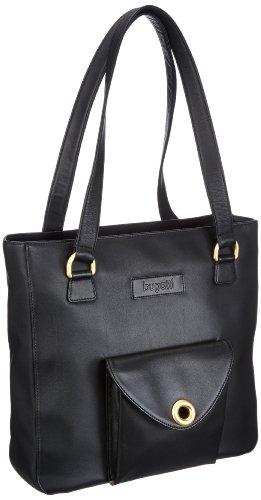 bugatti Bags Donna RV-Shopper 807494, Damen Shopper 33x32x10 cm (B x H x T) Schwarz (Schwarz 01)