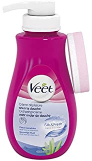 VEET Crema Depilatoria en la ducha 400ml Sensible