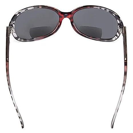 96bfa16737 Eyekepper Bifocal Gafas De Sol Mujer Sol Lectores +2.50 Gafas De Sol De Gran  Tamaño (Rojo-Tortuga): Amazon.es: Salud y cuidado personal