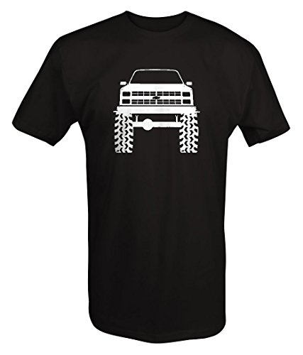 1980's 90's Chevy K5 Blazer Lifted Mud Tires Truck T shirt - ()