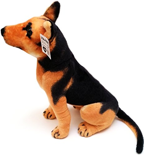 Gunther the German Shepherd | 20 Inch Large German Shepherd Stuffed Animal Plush Dog | By Tiger Tale Toys (Plush Stuffed Dog Big)