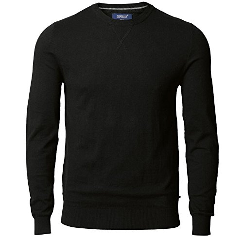 fe895ad0d54 Nimbus Mens Cotton Cashmere Blend V-Notch Collar Knitted Jumper ...