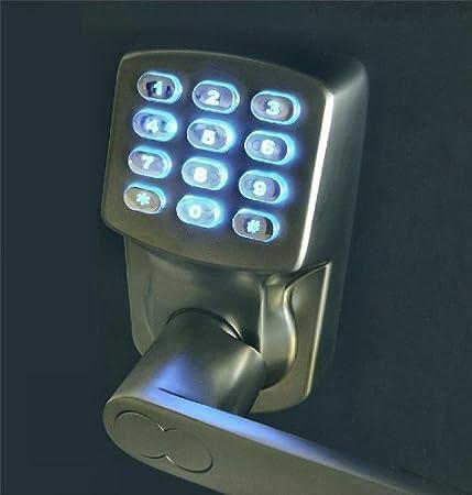 Amazon.com: Electrónica sin llave cerradura de puerta Set ...