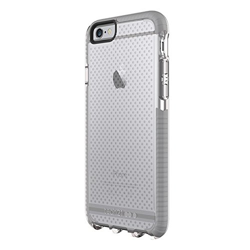 Tech21 Evo Mesh for iPhone 6/6S - Clear/Grey