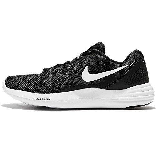 Zapatillas de running Nike Lunar Men para hombre Black / White-Cool Grey 9.5