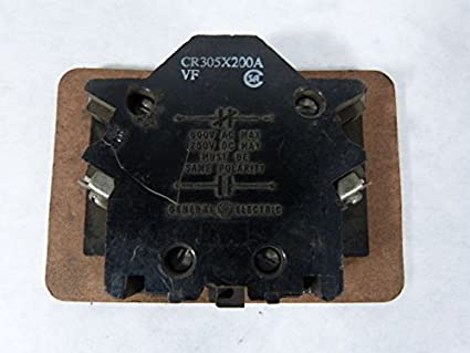 GE CR305X200A Auxiliary Contact