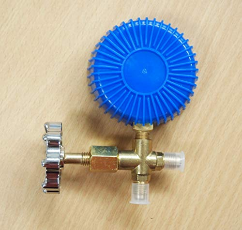 R134a R404a R22 R410a Single Manifold Gauge Hose Air Condition Charging Testing