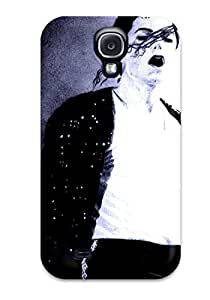 High-quality Durable Protection Case For Galaxy S4(michael Jackson King Of Pop)