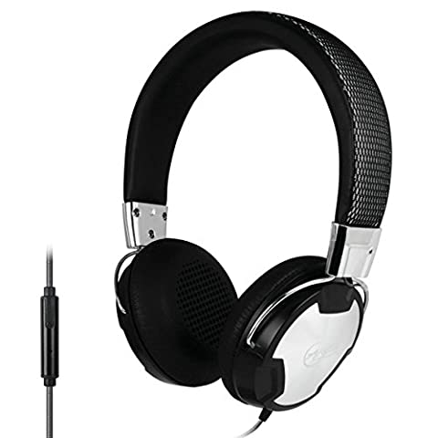 ARCTIC P614 Premium Wired Headphones / Headset In-Line-Mic and Enhanced Neodymium Drivers, for Apple iPhone & Samsung or LG Tablets and Smartphones – 30 Hours Playback Time – Pure and Natural Studio Sound - 3.5mm Jack