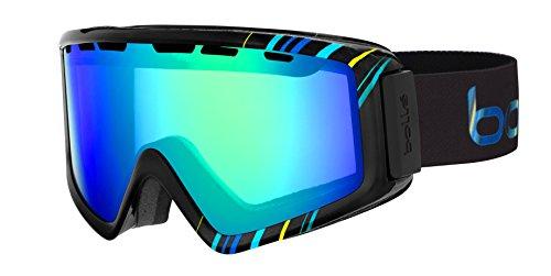 Bolle Z5 OTG Ski Goggles, Shiny Black/Blue