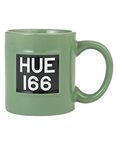 Official Land Rover Merchandise LR Hue 166 Mug Green