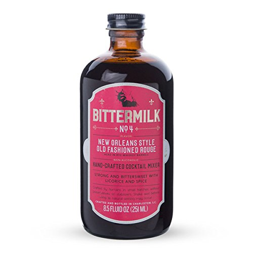 Bittermilk No.4 New Orleans Style Old Fashioned Rouge Cocktail Mixer - 8.5 oz