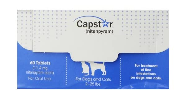 Novartis Capstar - Tabletas de pulgas para Perros y Gatos: Amazon.es: Productos para mascotas