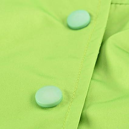 QZBAOSHU 2-6 Anni Bambino Giacca Impermeabile con Cappuccio Outwear Pioggia Cappotto delle Bambine e Ragazze