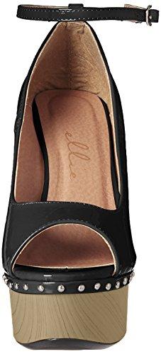 Ellie Shoes Women's 609-Valerie Pump Black 1EiXmLw6Hp