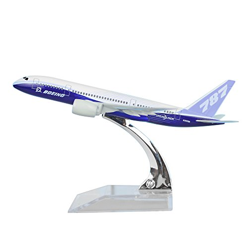 24-Hours Boeing 787 Alloy Metal Airplane Models Die-cast 1:400 (787 Models Airplane)