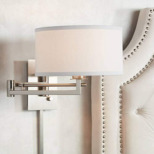 Possini Euro Aluno Plug-in Style Swing Arm Wall Lamp - Possini Euro Design ()