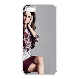 Lana Del Ray iPhone 5 5s Cell Phone Case White Scjam