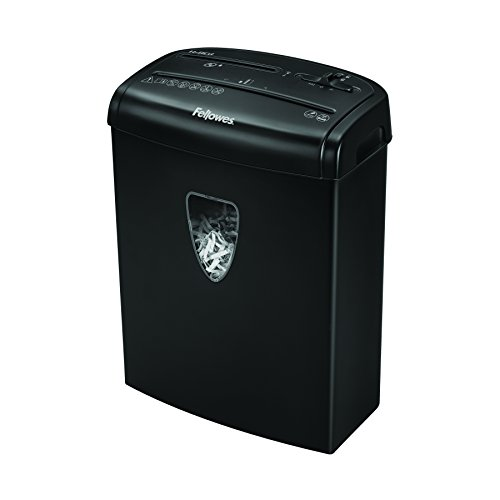 Fellowes Powershred H-8C 8-Sheet Cross-Cut Home and Deskside Paper Shredder with Safety Lock (4684301) by Fellowes