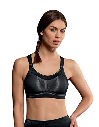 Sports Women's 5539 Support Anita Bra High 80f 001 Black Active Impact 4qw8AHT
