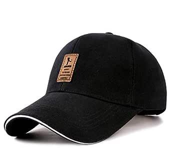 Black Baseball & Snapback Hat For Men