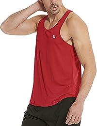 Men's Athletic Performance Stripe Tank Top