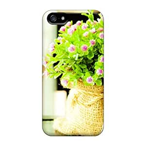 WonderwallOasis Defender PC Hard For Case Samsung Note 4 Cover - Pretty Flower Bag