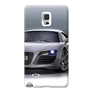Samsung Galaxy Note 4 SFE1878DiDY Allow Personal Design Vivid Audi R8 Skin Anti-Scratch Hard Cell-phone Case -top10cases