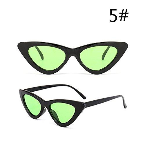 De Sol Mujeres De De Uv400 Gafas Gafas De Edad Hembra e Sol Rojo Negro Espalda Gafas TIANLIANG04 Oculos Gafas De De Gato I Pequeñas Ojo 0xpcf