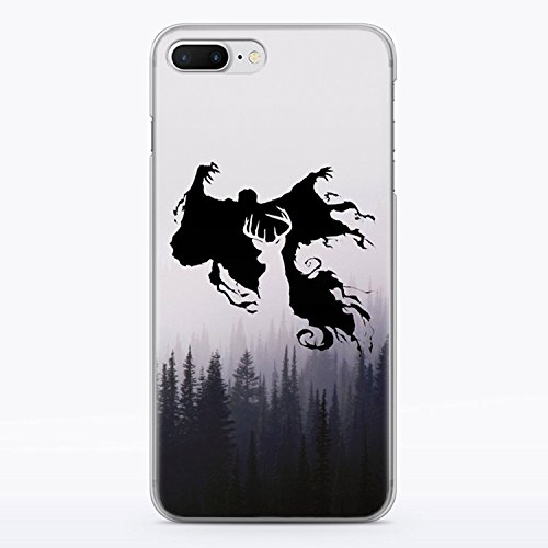 Potter Phone Cell Harry - Harry Potter Patronus Deer iPhone 6 and iPhone 6S Clear Case Dementor Expecto Patronum Hogwarts Fandom Cell Phone Durable Plastic Case for iPhone 6 and iPhone 6S Foggy Wood Nature MA1293