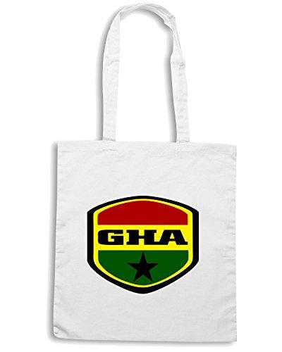 T-Shirtshock - Borsa Shopping WC0149 GHANA Bianco
