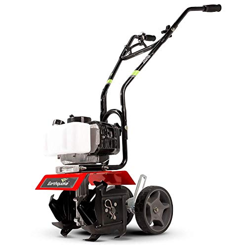 Earthquake 31635 MC33 Mini Cultivator with 33cc 2-Cycle Viper Engine, 5 Year Warranty, Red