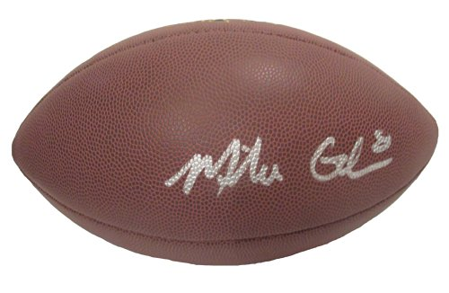 - Oakland Raiders Mike Glennon Autographed Hand Signed NFL Wilson Football with Proof Photo of Michael Signing, Tampa Bay Buccaneers, Chicago Bears, North Carolina State Wolfpack, COA