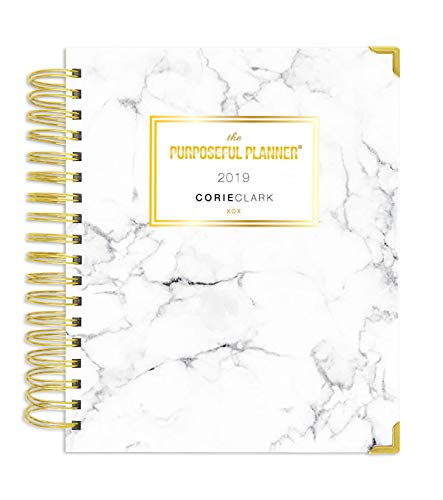 2019 Purposeful Planner - Daily - Marble