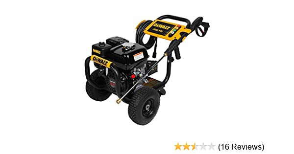 Amazon.com : DeWalt Professional 3400 PSI (Gas - Cold Water) Pressure Washer w/ Honda Engine - DXPW3425 : Garden & Outdoor