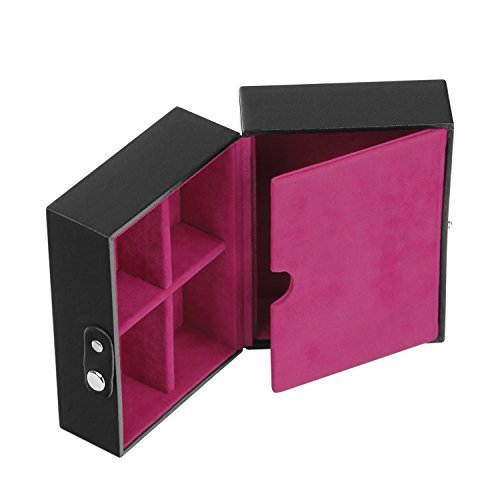 | 33% OFF | Stackers | Jewelry Box | black & fuchsia pink travel box stacker accessory by Stackers by LC Designs (Image #2)