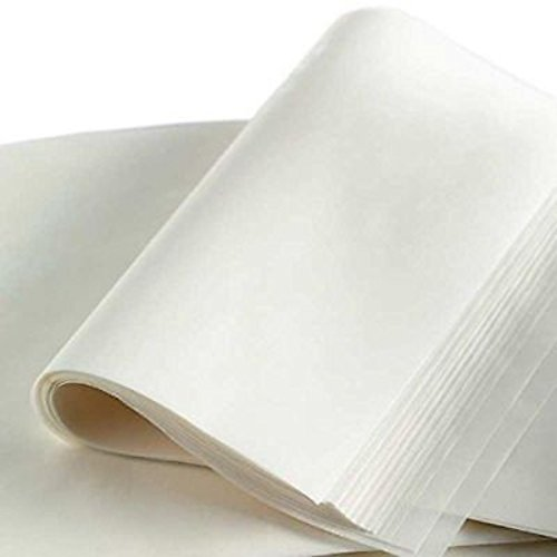 "X-Treat 16"" x24"" Bleached White Parchment Paper Baking Sheets Pan non stick liner Liner 100 Pack"
