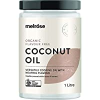 MELROSE Organic Flavour Free Coconut Oil 1L