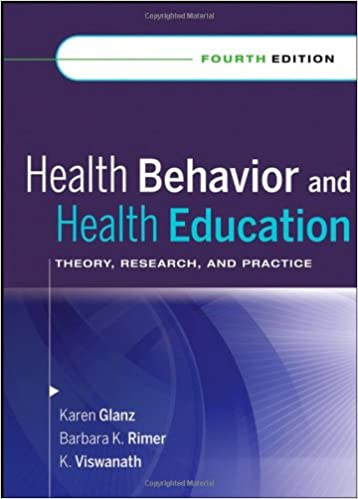 Health Behavior And Health Education Theory Research And Practice 9780787996147 Medicine Health Science Books Amazon Com