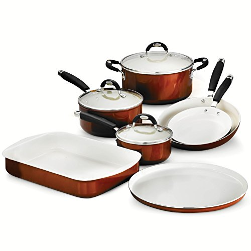 Tramontina 80110/222DS Style Ceramica_01 10 Piece Cookware/Bakeware Set