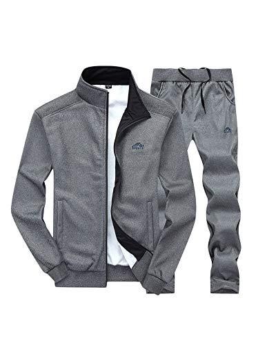 Grigio Tute UomoSportswear Sportivo Scuro Da Sportive Caldo Sets Penggenga Abbigliamento 8mwnvN0