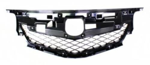 CPP Direct Fit CAPA Certified Grille Reinforcement for 2009-2011 Acura TL AC1202100C ()