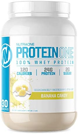 Amazon Com Proteinone Low Carb Whey Protein By Nutraone Weight Loss And Build Muscle With A Low Carb Protein Shake Powder For Men Women Banana Candy 2 Lbs Health Personal