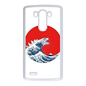 LG G3 Cell Phone Case White Hokusai