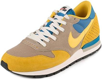 Nike Air Epic QS, Zapatillas de Running para Hombre, Amarillo/Beige/Azul (Bamboo/Vivid Sulfur-Str Bl-SL), 44 EU: Amazon.es: Zapatos y complementos