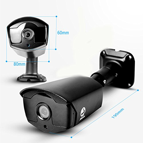 Outdoor Security Camera Jooan 4mp 1440p Poe Camera Video